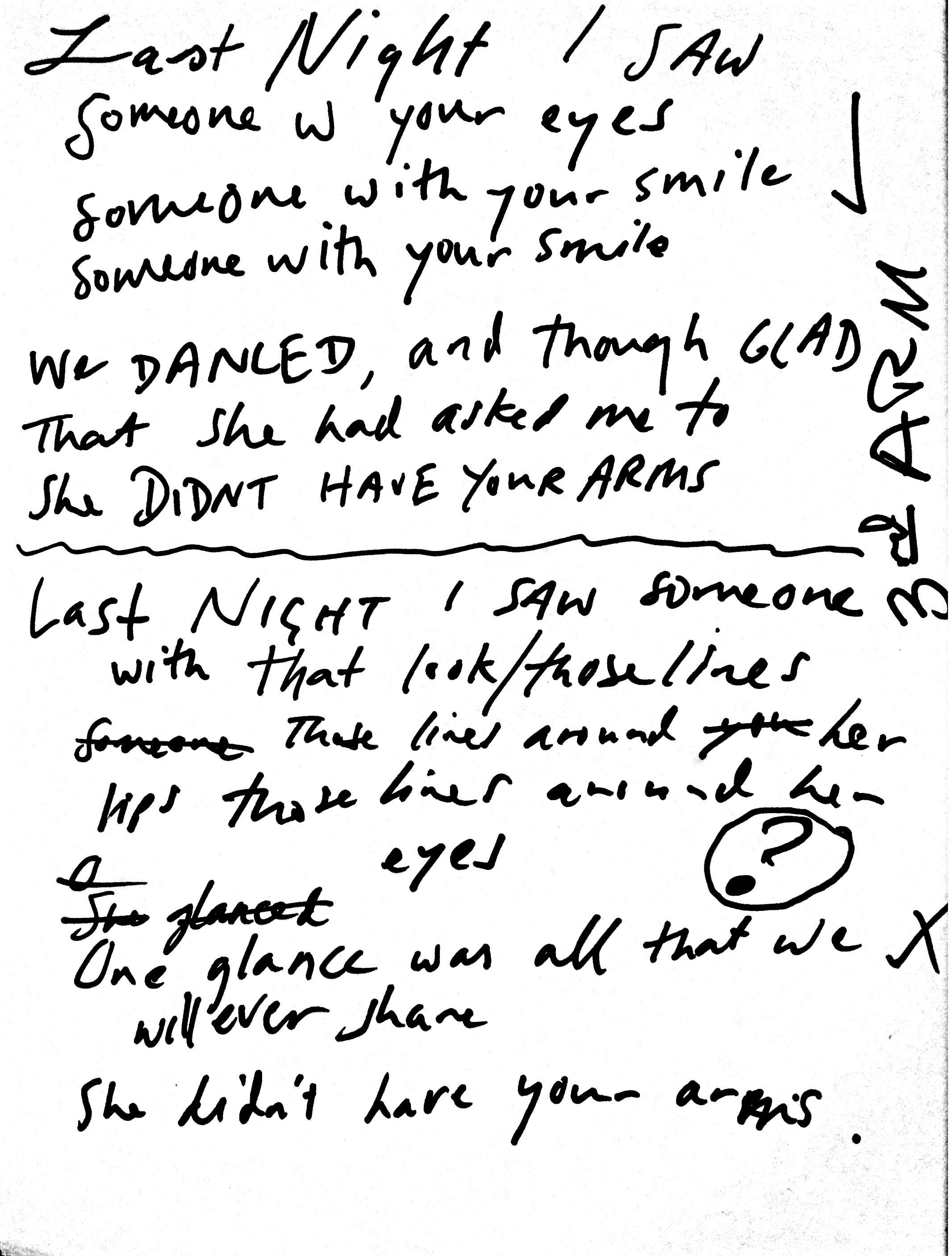 01 Third Arm Lyrics