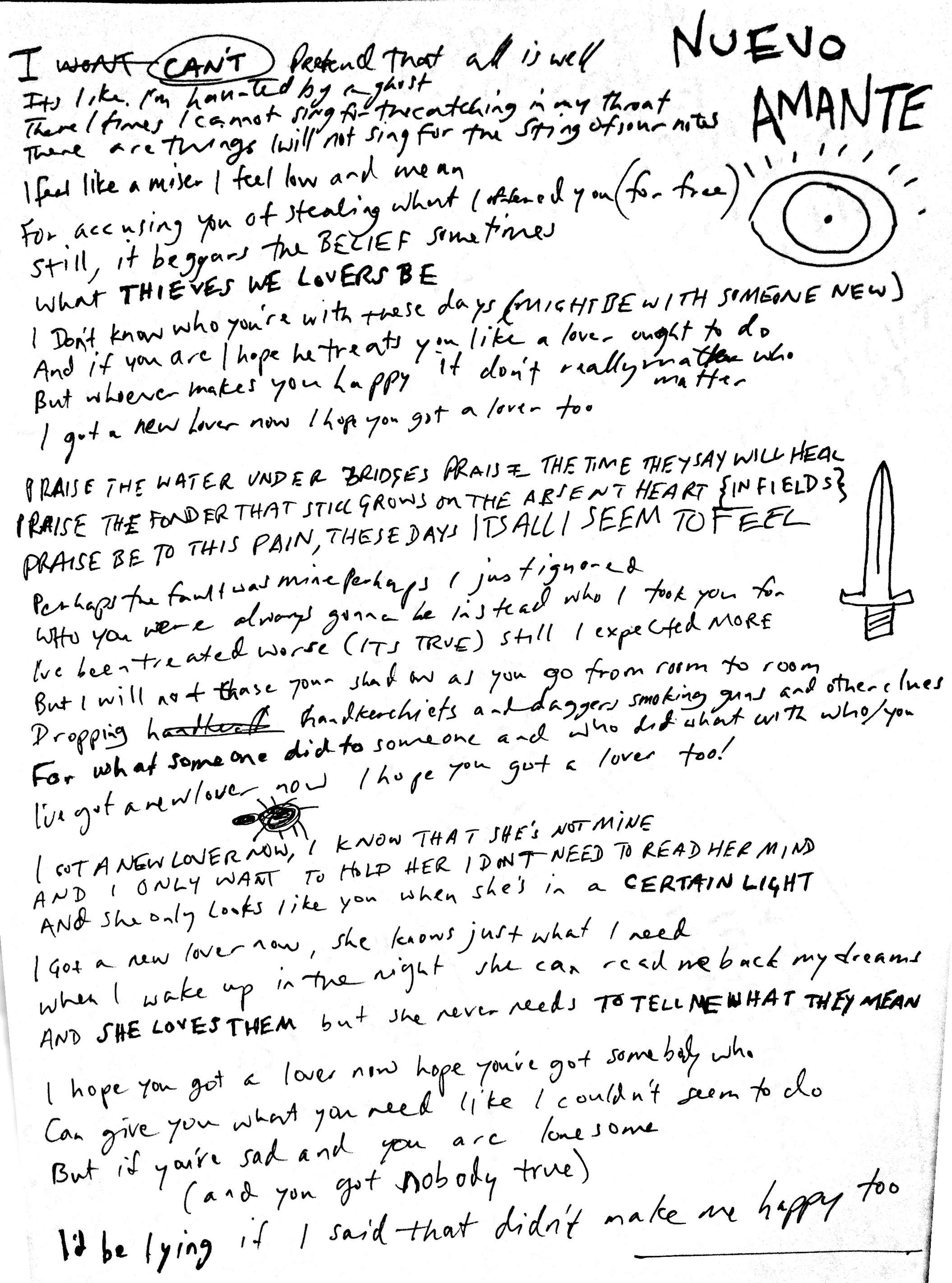 06 New Lover Lyrics