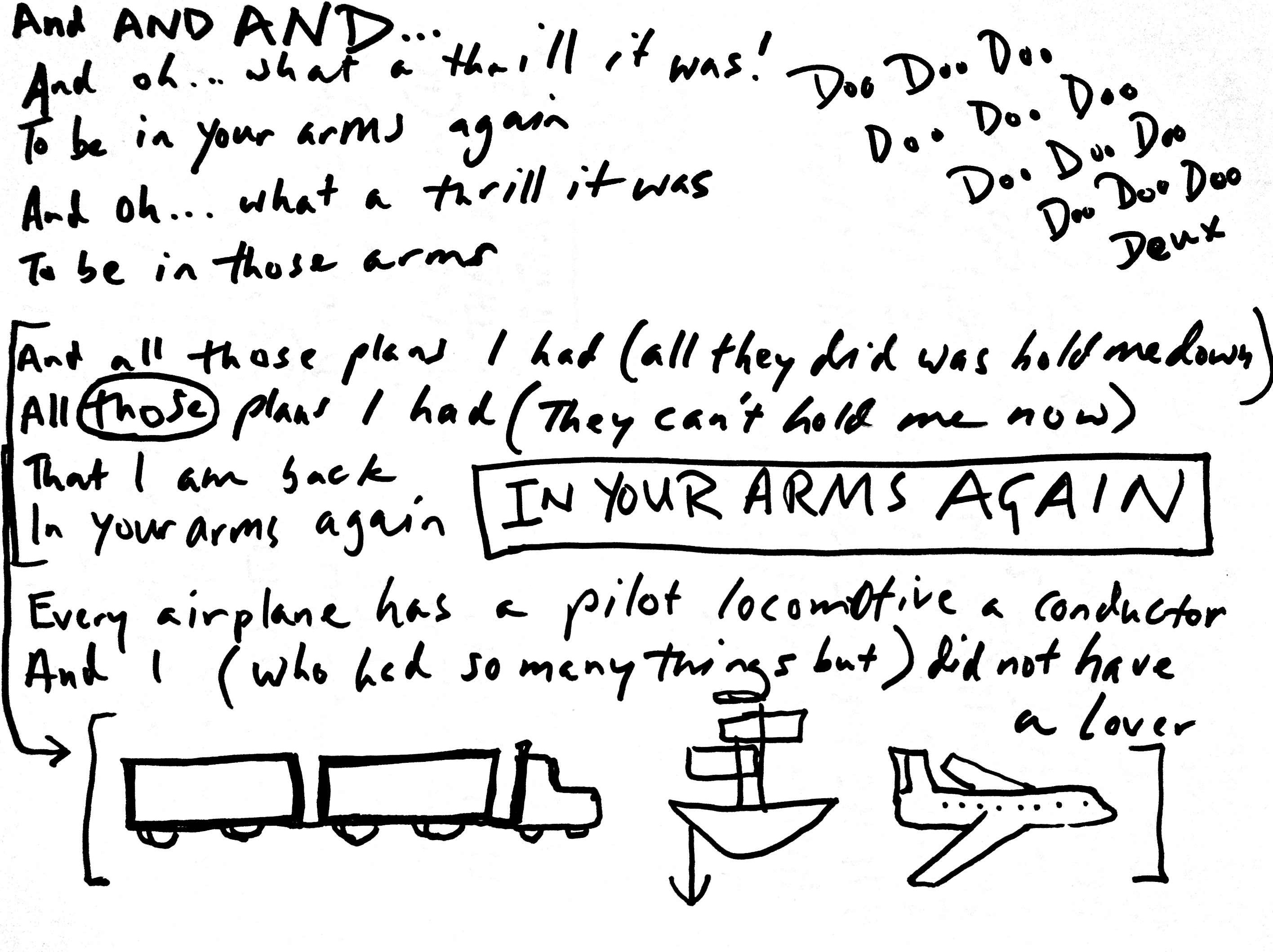 08 In Your Arms Again Lyrics
