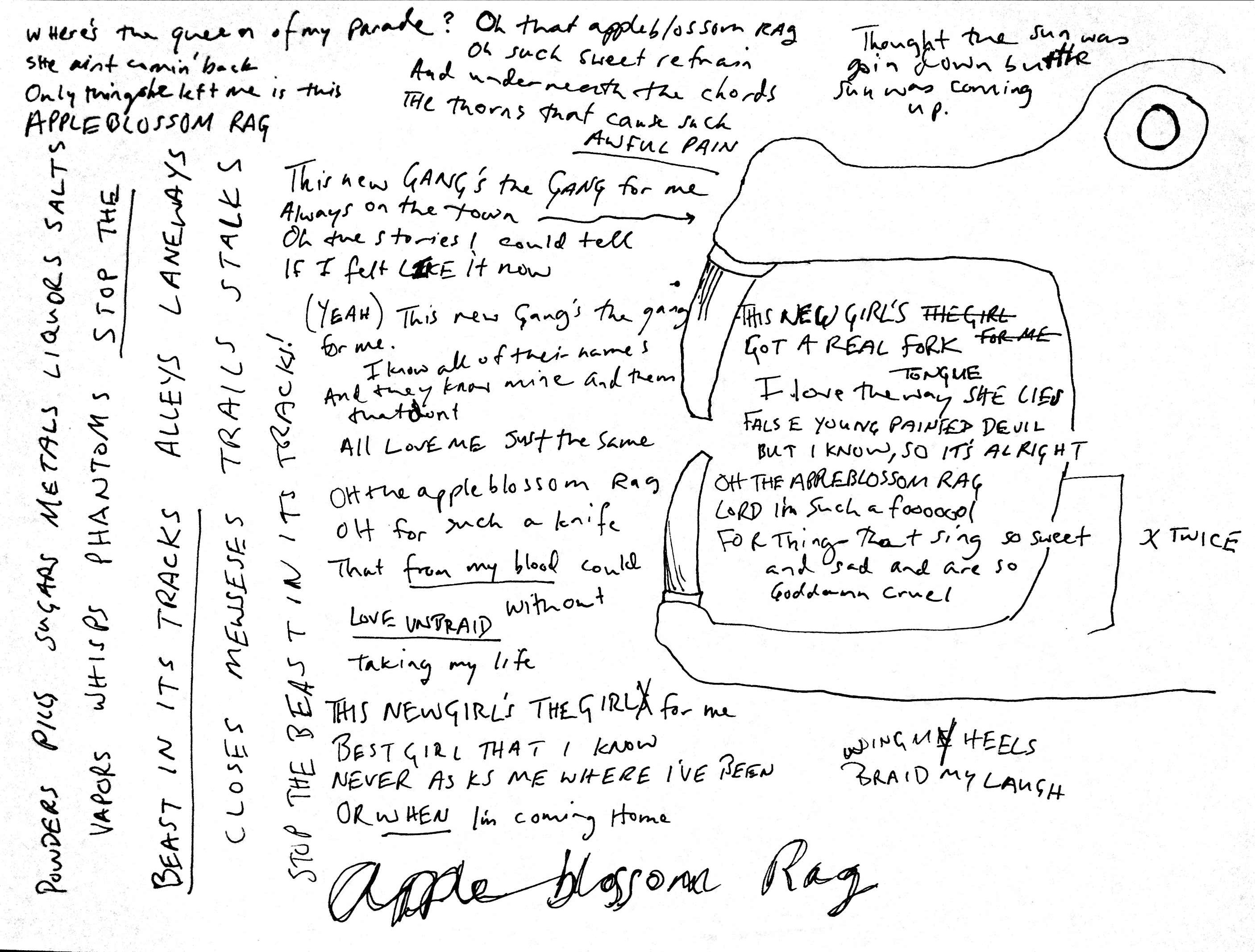 09 Appleblossom Rag Lyrics