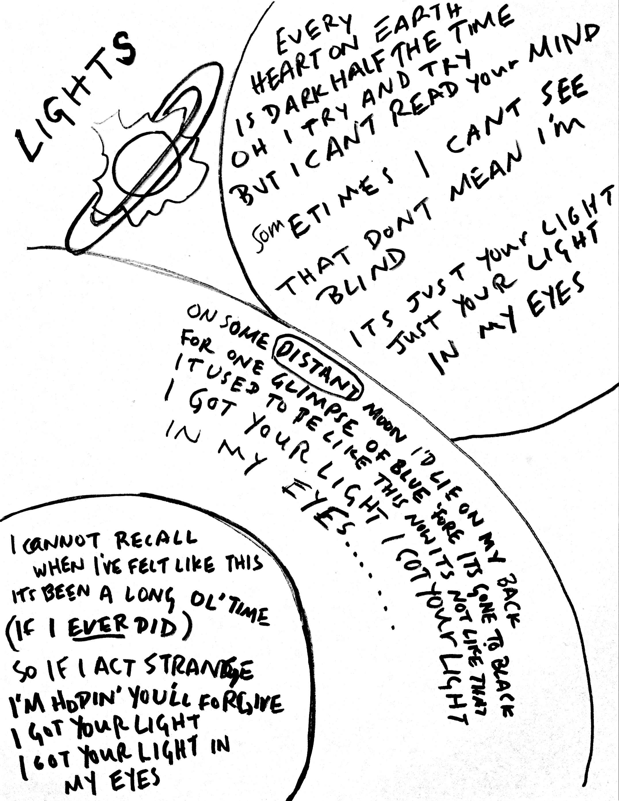 13 Lights Lyrics