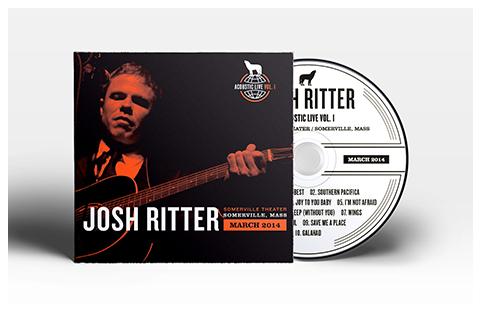 JoshRitter_LiveFromSomerville_CD