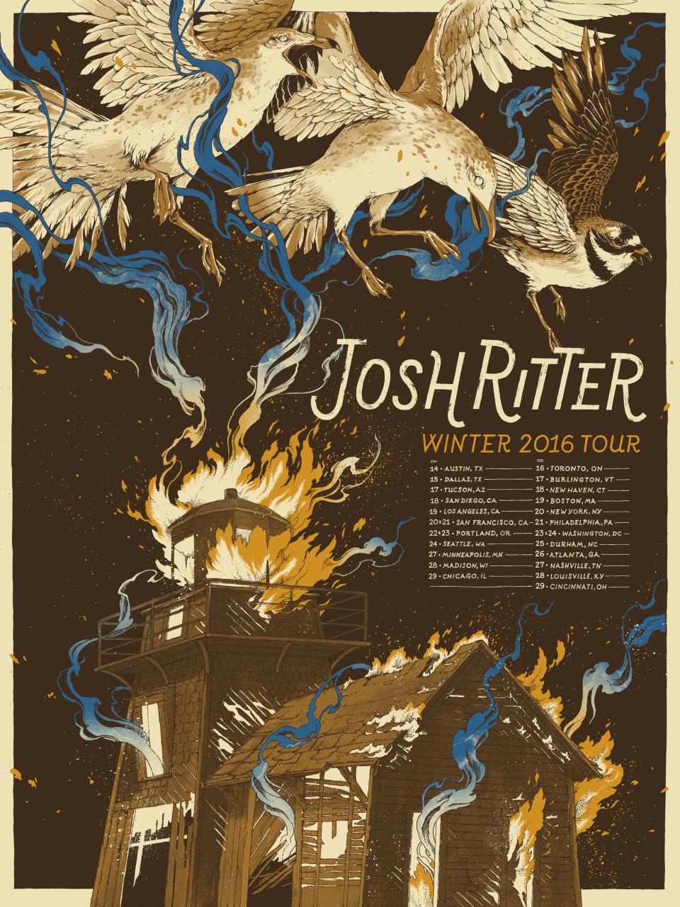 JoshRitter2016Poster_FinalColors_ActualPrints2000w